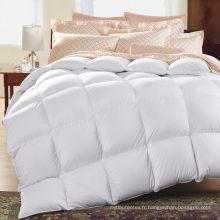 Haute qualité 100% coton coton blanc bébé courtepointe