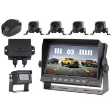 Customized 4 Input Radar Sensor Parking Car Camera Radar System With Radar Host Box