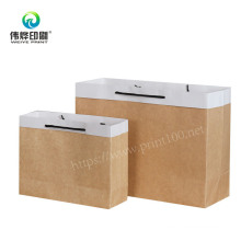 Recyclable Take Away Paper Packaging Gift Bag for Clothing Carrier Gift Bag Manufacturer