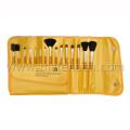 15PCS Portable Travel Cosmetic Makeup Brush