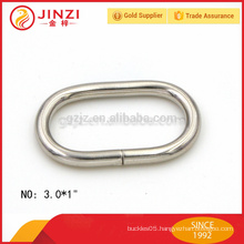3mm wire diameter oval shape iron ring