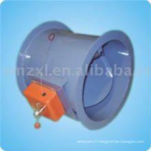 Ignifuge amortisseur (régulateur de gaz, le clapet d'air)