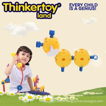 Children Park House Building Blocks Educational Animal Toys