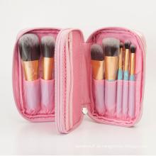 El sistema de cepillo del maquillaje 9PCS con el pelo de nylon, OEM / ODM es Avalable