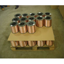 Arame revestido de cobre para unhas de bobina