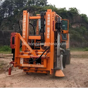 Hydraulic Vibrating Pile Driver
