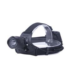 Lampe frontale à faisceau large et projecteur zoomable