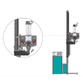 Desiccant filling machine with double filler heads