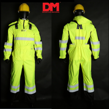 Top Quality Soft shell Hi Vis Workwear Coveralls