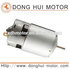 12v dc motor eléctrico RS-775 para motor de corriente continua del imán del motor del ventilador