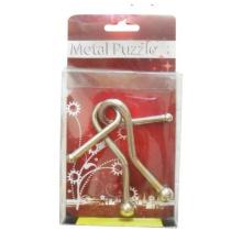 3D Metall Puzzle mit Ringen Lösung
