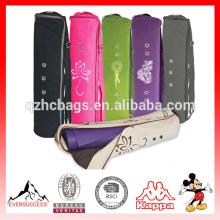 Grande tapete de yoga saco o saco de yoga inteligente original serve a maioria dos tapetes 3 bolsos de armazenamento fácil acesso zipper