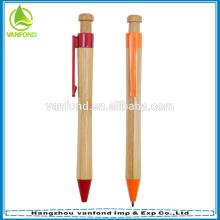 Venda quente caneta de bambu promocional de eco de alta qualidade para escritório estacionário