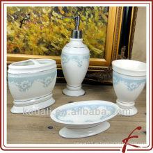Juego de regalo de baño de cerámica