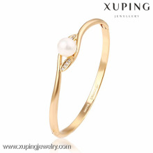 51212 Xuping Gros charmes bracelet en or pour femmes