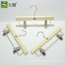 plywood light skirt hanger with clips
