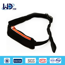 Zipper canvas sports fashion money belt