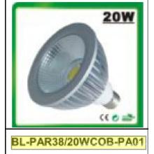 Proyector LED 20W regulable / no regulable PAR38 COB
