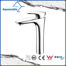 High Body Single Handle Bathroom Basin Faucet (AF1048-6H)
