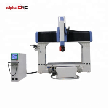 5 axis ATC  cnc router for wood, styrofoam (EPS), resin, plaster, clay model and non-metal products