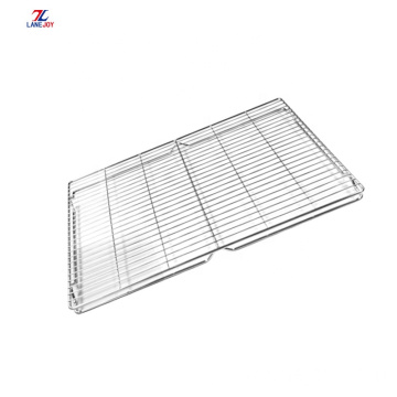stainless steel wire mesh folding cooling rack Cooling mesh Suitable bake cookies oven rack