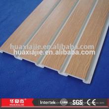 Lagergeschützt PVC-Schaum Slatwall Panel