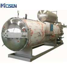 Hot Water Circulation Sterilization Pot Horizontal Retort Sterilizer / Pouch Water Sterilizer Retort Machine Autoclave