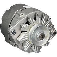 Zinc alternator cover