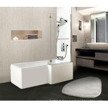 2014 fashion style small corner bathtub with CE