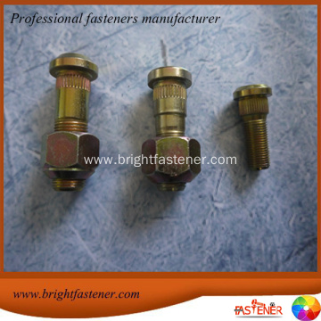 Knurled Stud Wheel Bolts of agricultural machinery (tractors)