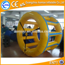 Funny water jeux gonflable water wheel, water roller, inflatable roll orb / ball