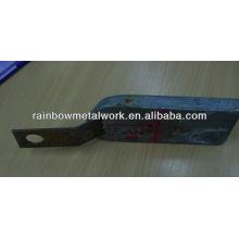 Ánodo de zinc para la tubería
