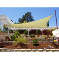 HDPE УФ защита сада ветрила тени
