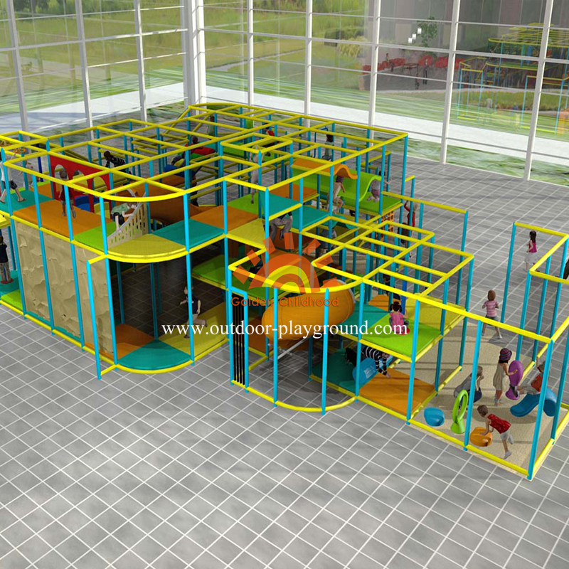 Large Play Area Structure Indoor Playground