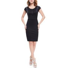 Sexy Fashion Black Sommer Neue Design Frauen Kleid Herstellung in China