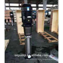 bomba de refuerzo de etapas múltiples verticales de alta presión y alta capacidad