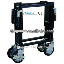 DW-TR001 stainless Steel Church trolley portable for funeral equipment