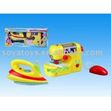 Electrodomésticos juguetes hierro sartorius w / luz, la música, el agua obras-907020404
