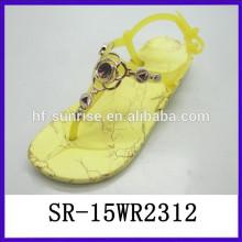 Zapatos de la jalea del melissa de las sandalias de la inyección de la manera los zapatos de la jalea de los zapatos de la manera de las señoras calzan al por mayor