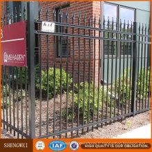 Panneau de clôture de jardin en fer forgé ornemental économique