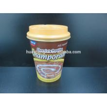 Taza de papel disponible del café doble con mejores ventas estándar de la pared 400ml del FDA