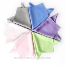 Handkerchief Silk Fresh Floral Design Silk Handkerchief