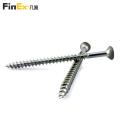 Flat Head Stainless Steel Self Tapping Wood Screws