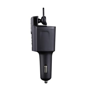 Bluetooth Headset Freisprecheinrichtung mit Kfz-Ladegerät