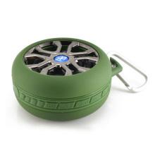 Alto-falante Bluetooth ao ar livre com forma de pneu (HQ-BTS605)