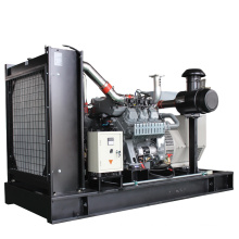 High electric efficiency 150kw biogas generator set running continuously for 24 hours