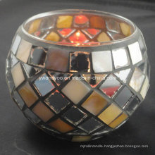 Light The World Mosaic Tealight Candle Holder