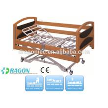 DW-BD142 électrique icu lit de soins infirmiers avec trois fonctions pour lit d'hôpital de vente chaude