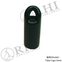 RHI 22 mm Dark Green hanger hook end caps. pvc closures for tubes , pipe fittings protection Caps