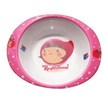 Melamin Kinder Geschirr / Salatschüssel mit Griff / Melamin Geschirr (MRH12001)
